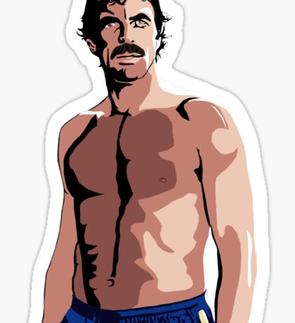 Tom Selleck - The Sexiest Man Sticker