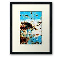 Rust Milkshake Framed Print