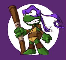 Tiny Mutant Ninja Turtles-Don by Mike Victa