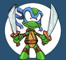 Tiny Mutant Ninja Turtles-Leo by Mike Victa