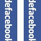 defacebook (sticker) by vassil