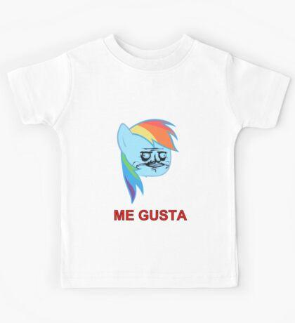 Rainbow Dash ME GUSTA Kids Tee