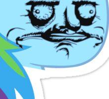 Rainbow Dash ME GUSTA Sticker