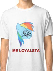 Rainbow Dash ME GUSTA (Loyalsta, Elements of Harmony) Classic T-Shirt