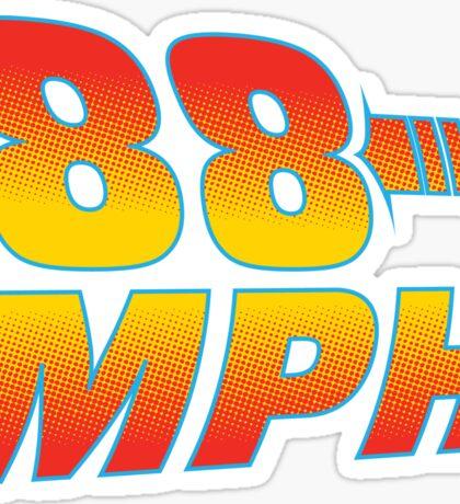 88MPH Sticker