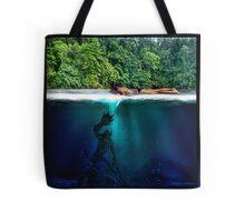 The Black Lagoon Tote Bag