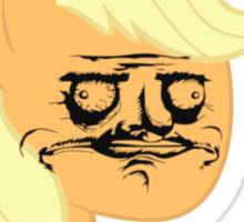 Applejack ME GUSTA Sticker