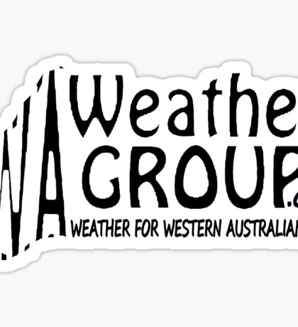 WA Weather Group Sticker  Sticker
