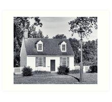 Picket Fences - American Dream - Colonial Williamsburg Art Print