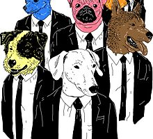 Real Reservoir Dogs sticker by Jonah Block