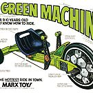 The Green Machine by Jenn Kellar