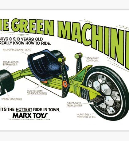 The Green Machine Sticker