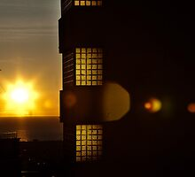 First sunrise of the year at Barcelona  by Miquel  Gil