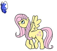 Fluttershy and the Butterfly by Liiadragon7