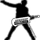 Electronic Rumors: Keytar Axe-Man by electronicrumor