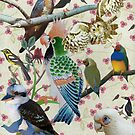 Pretty Birdies by kewzoo