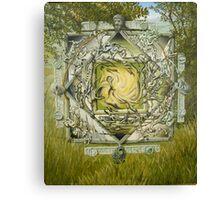 Mandala of the cave Canvas Print