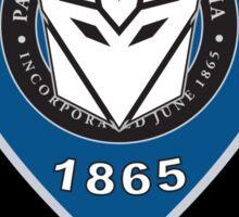 Transformers Police Sticker Sticker