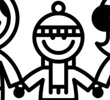 yeti feliz Sticker