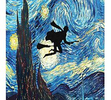 The Starry Night Harry Potter by Dakonn