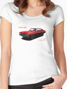 Red Chevelle Women's Fitted Scoop T-Shirt