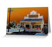 Broken Hill Milk Bar Greeting Card