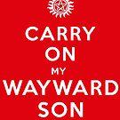 Carry on (My wayward son) by Nana Leonti