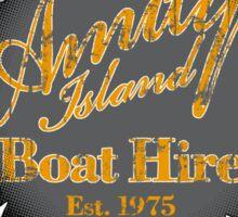 Amity Island Boat Hire - Sticker Sticker