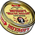 Miyagi's Super Wax - Sticker by rubyred