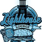 Lighthouse Lounge - Sticker by rubyred