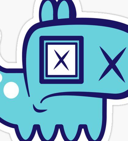 Blue Mutt Sticker