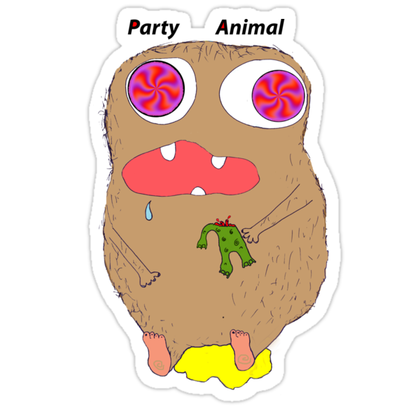 party animal (illution eyes) by partyanimals