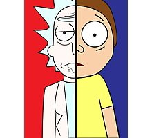 Face Off: Rick & Morty Photographic Print