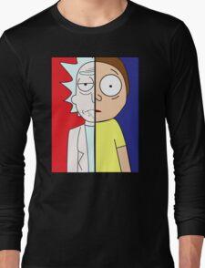 Face Off: Rick & Morty Long Sleeve T-Shirt