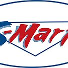 Shop smart, shop S-Mart you got that? - sticker by D4N13L