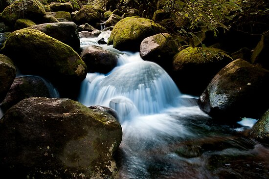 Wairere boulder fall by Ken Wright