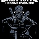 Harry Tuttle - Heating Engineer - Stickers by DoodleDojo