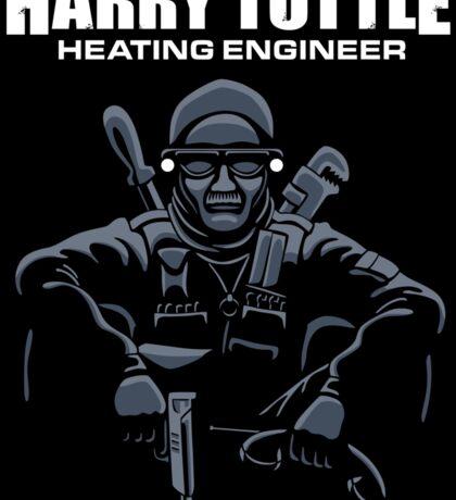 Harry Tuttle - Heating Engineer - Stickers Sticker