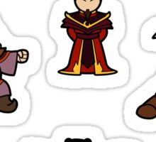 ATLA Mini Stickers: Fire Nation Sticker