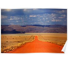 The Road is Long Poster