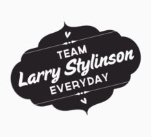One Direction - Team Larry Stylinson in black by Adriana Owens