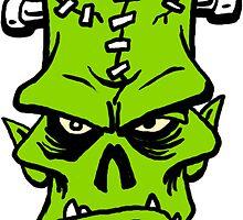 Franky Sticker by monsterfink