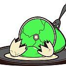 I Like My Eggs Over Greeny, With Ham. by HarryGordon