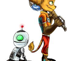 Ratchet and Clank by VanillaGrin