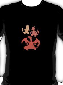 Pokemon - Charmander Family Tee T-Shirt