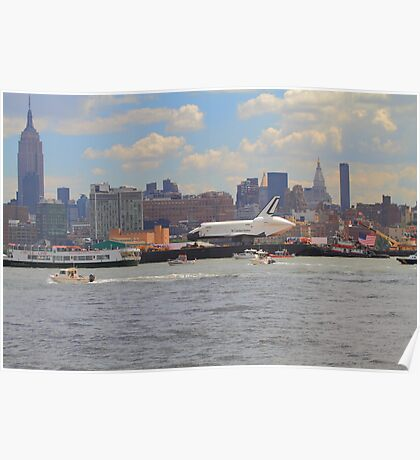 The Space Shuttle Enterprise Poster