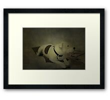 I've Been Told Patience is a Virtue Framed Print