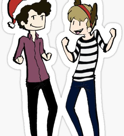 It's A Sherlock Christmas Sticker