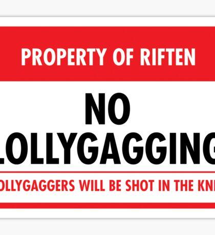 Riften Municipal Ordinance (Sticker) Sticker