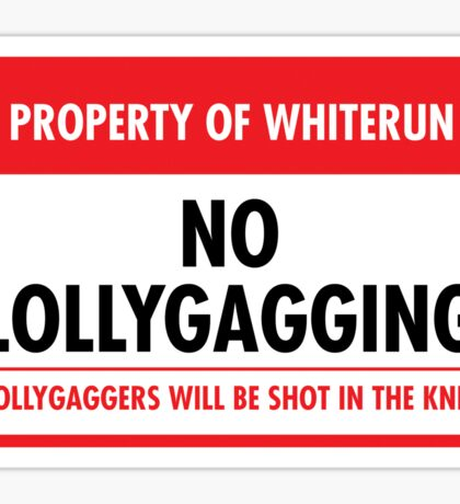 Whiterun Municipal Ordinance (Sticker) Sticker
